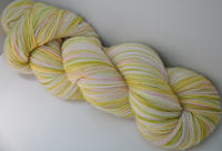 """Sunkissed"" on Eclipse twist sock yarn"