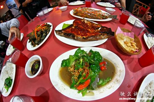 Food at Umbai Melaka