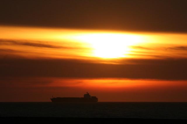 a Danshui sunset