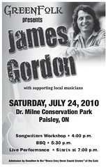 Green Folk Presents James Gordon