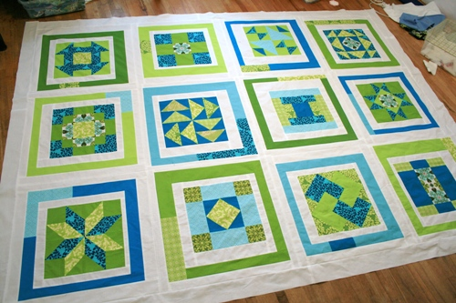 modify tradition quilt top