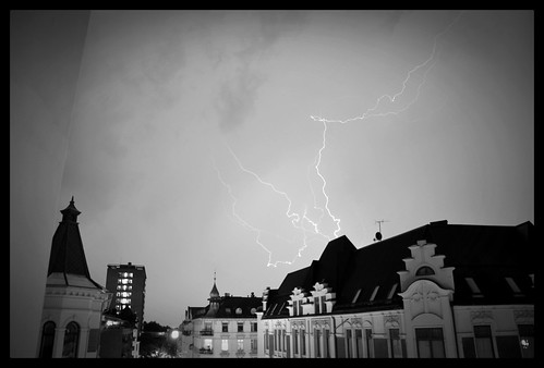 A stormy night in Oslo