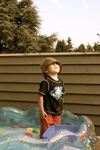 Arlin's kiddie pool