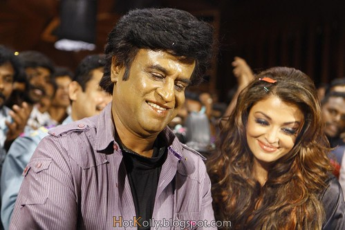 Endhiran: Rajinikanth and Aishwarya Rai