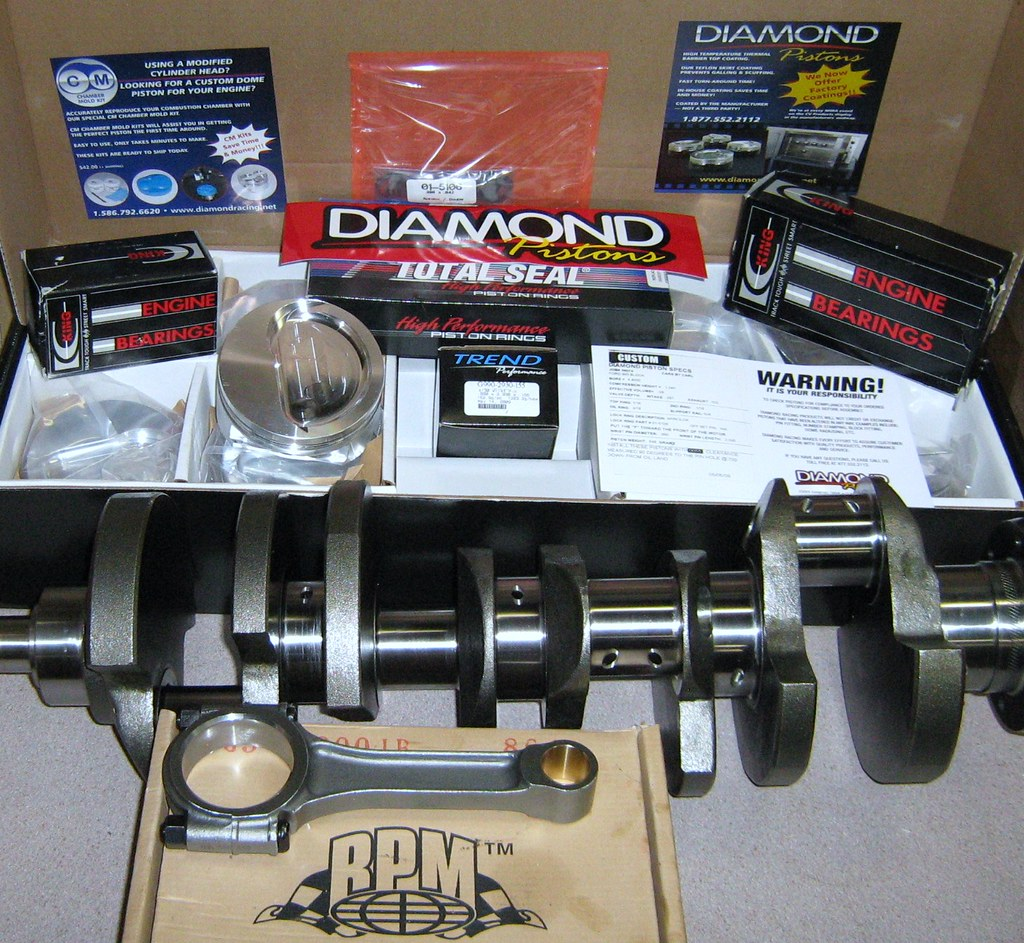 523-547 CID Diamond Stroker Kit $1499.00 SHIPPED