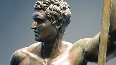 A Seleucid prince as hero, from the Palazzo Massimo. (Ugo Troccoli) Tags: italy rome art museum ancient italia prince palazzo massimo seleucid