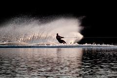 Water Sports (Jeff Presnail) Tags: summer lake ski sports spray getty waterskiing watersports waterski roostertail