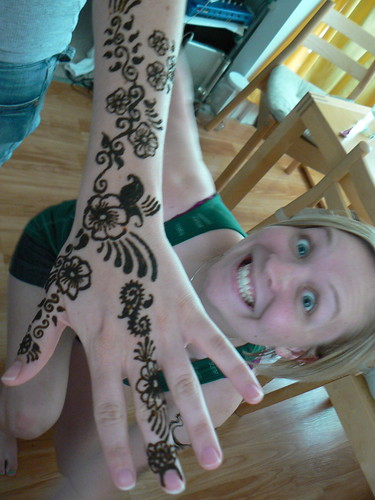 flowers, hand design, mehndi