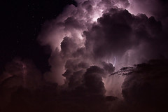 Purple Storm (JGo9) Tags: cloud storm nature weather night canon eos power purple action kentucky ky space stormy electricity static lightning drama starts bigdipper lincolncounty waynesburg stormnight constilation regionwide t1i