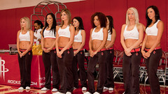 Houston Rockets Power Dancers auditions 2010
