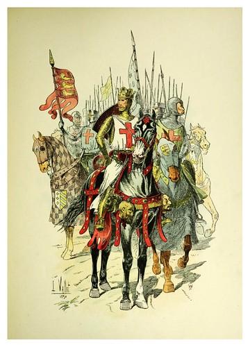 007-Ricardo Corazon de Leon-Le chic à cheval histoire pittoresque de l'équitation 1891- Louis Vallet