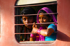 (Irene Stylianou) Tags: portrait india window digital train nikon nikkor dslr nikondigital vr rajasthan d300 nikoncamera travelphotography 18200mm indianportrait indianpeople vr2 nikkor18200mm portraiturephotography trainsafari nikond300 phulad kamblighat irenestylianou nikkorzoomlens18200mmf3556