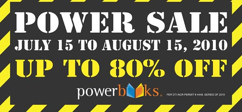 Powerbooks Powersale