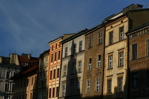 Coucher du soleil sur Varsovie... et notre voyage
