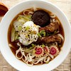 Momofuku Style Udon with Bacon Broth