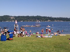 Live from the best Seattle beach