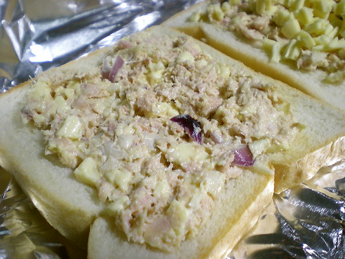 STP's tuna & cheese toast 1