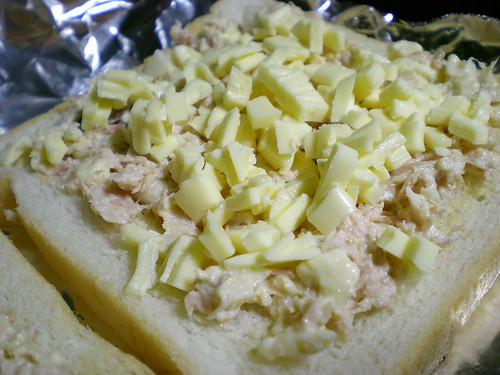 STP's tuna & cheese toast 2