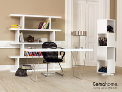 Home Office - Multi - Step - Shell (TemaHome - Living Your Dreams) Tags: design shell bookshelf step tables bookcases homeoffice escritorio moderno multi mesas estante mobiliario rotativa