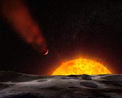 NASA Finds Super-Hot Planet with Unique Comet-...