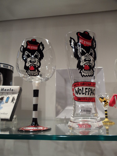Collegiate Wine and Beer Glasses