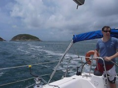 Sailing to Shelter Cove Photo