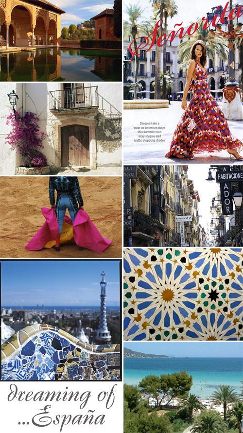 Spain inspiration