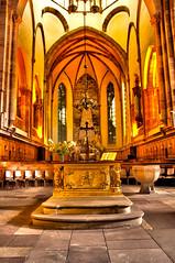 Autel Eglise Saint-Thomas Church - Strasbourg - France