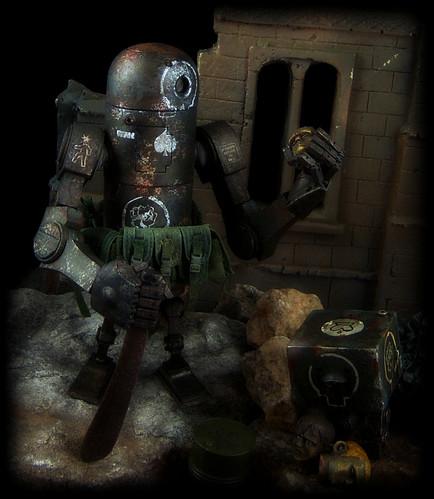 Ashley Wood's World War Robot - 1/12 Bertie [Dirty Deeds Unforgiving Variant]