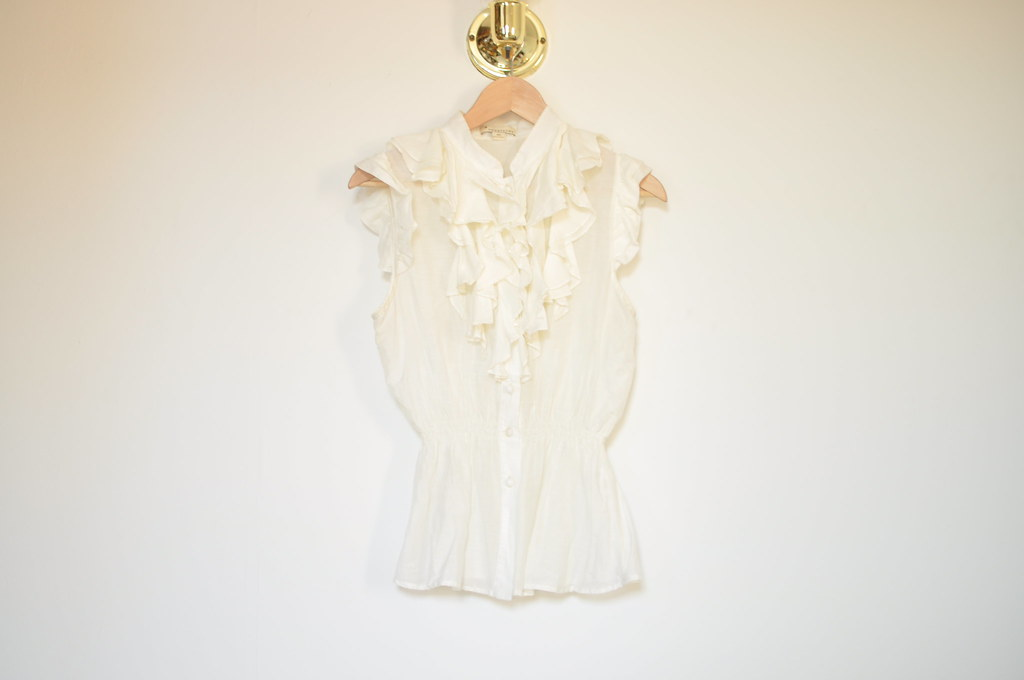 forever 21 ruffled top