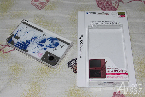 Nintendo DSi LL Love Plus + Manaka Deluxe Set