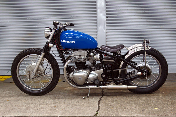 Another Softail W650 By Boatrap Kazw650 Tags Motorcycle Bobber
