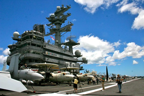 The Island and the Flight Deck