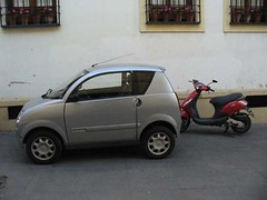 CORDOBA, SPAIN - Microcar/ ,  -  (Miami Love 1) Tags: espaa spain andalucia spanish cordoba microcar andalucian