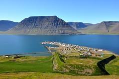 Flateyri, Iceland (Martin Ystenes - http://hei.cc) Tags: mountains iceland fjord 1001nights vestfirir westfjords avalanche vestfirdir magiccity safjrur flateyri av