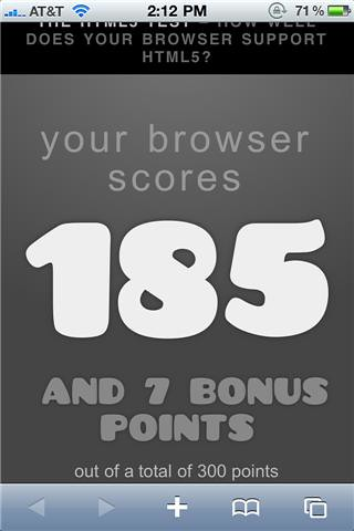 Iphone4HTML5test