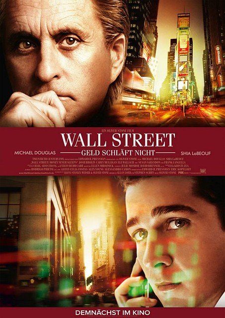 Pôster Wall Street: Money Never Sleeps
