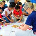 Project HOPE Volunteer Kathryn Allen Makes Clay Sculptures With Indonesian Children