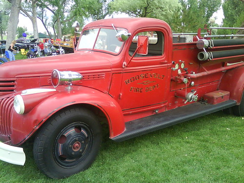 First Roosevelt City Fire Engine
