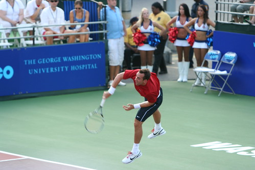 Bobby Reynolds in men's singles.