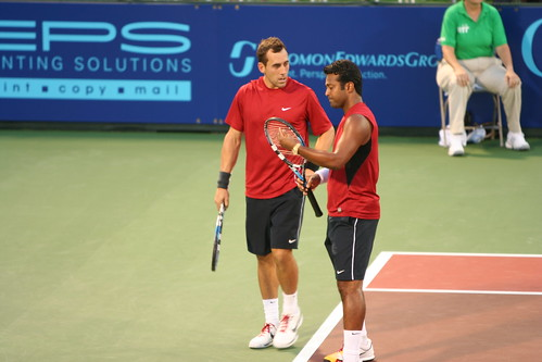 Leander Paes and Bobby Reynolds