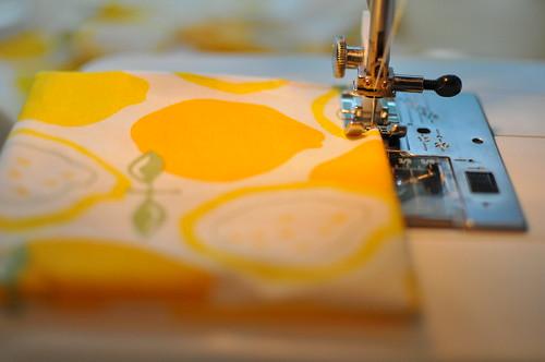 yellow sew