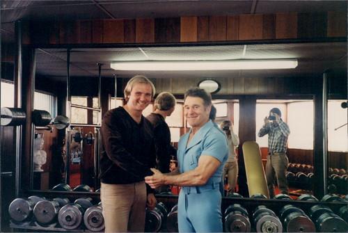 George Lang and Jack Lalanne