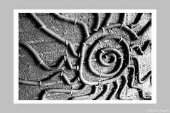 City Abstract - Deco de Sol (伍角船板.內湖) - 1 (Leche con Compasio) Tags: bw abstract building film taiwan taipei 台灣 台北 建築 黑白 nikonf3hp 內湖 selfdeveloped 抽象 伍角船板 naihu fujifilmneopan400 d761110min nikkor28mmf2 富士底片 手工沖片