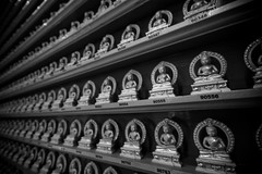 Buddha donation in chinese temple - Singapore