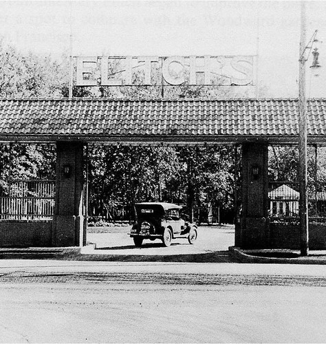 entrance gate (courtesy of Charles Perry, Perry Rose)