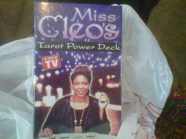 Miss Cleo tarot deck