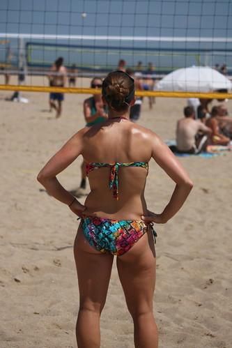 Amateur on beach understand