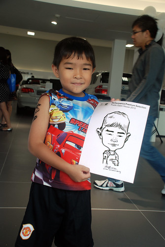 Caricature live sketching for Performance Premium Selection BMW - Day 4 - 13