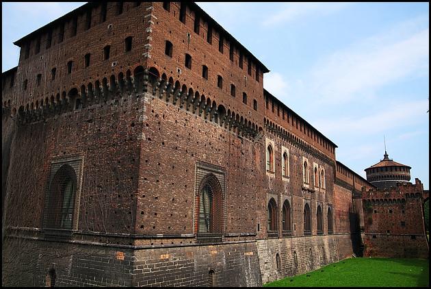 Castello Sforzesco Wall